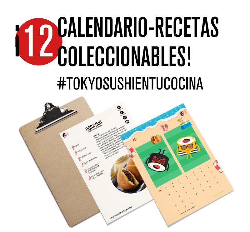 Calendario recetas Tokio sushi
