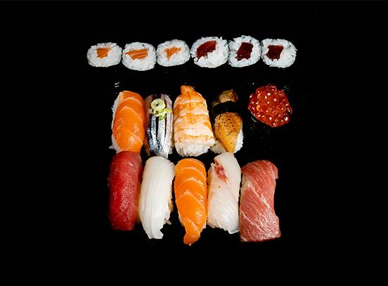 Bandeja Tokuyo sushi