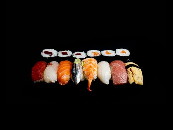 Bandeja Nami sushi