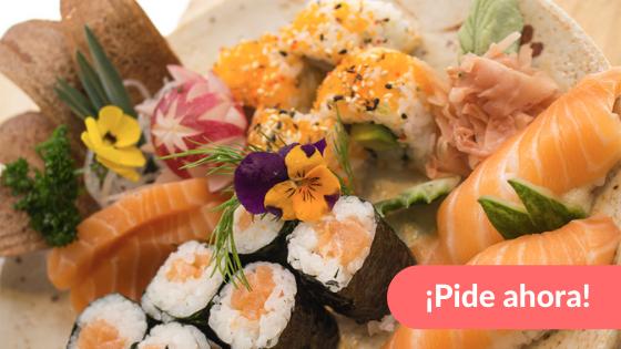 Haz tu pedido a domicilio del mejor sushi en Barcelona