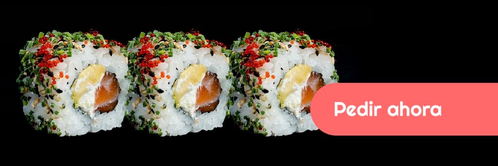 Prueba este Uramaki que solo encontrarás en Tokyo Sushi
